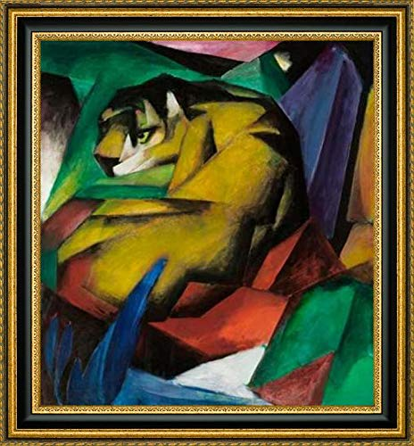 - The Tiger, 1912 by Franz Marc - 43.25