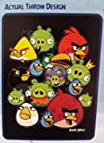 100% Premium Microfiber Children's Throw Blanket (Angry Birds)