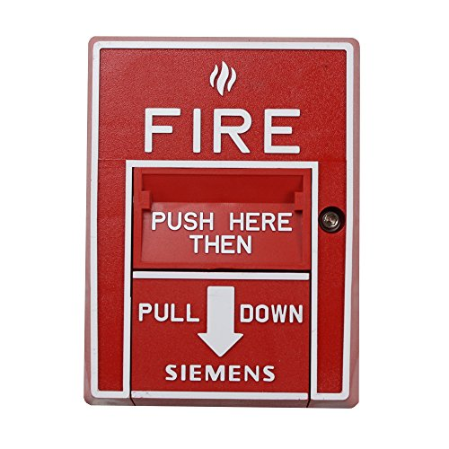 Siemens Hms-D Dual-Action Addressable Fire Alarm Manual Pull Station