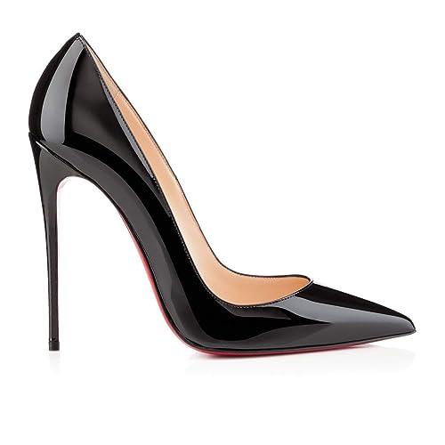 4c435b81772 Christian Louboutin - Zapatos de Vestir Mujer, Negro (Negro), 37.5 EU:  Amazon.es: Zapatos y complementos