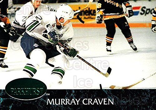(CI) Murray Craven Hockey Card 1992-93 Parkhurst Emerald 55 Murray Craven (Murray 55)