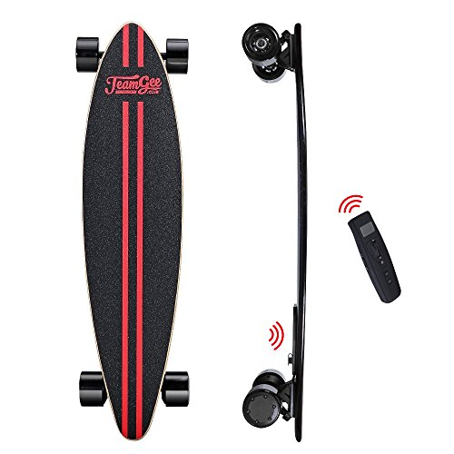 teamgee H6 Electric Skateboard, Faster & Lighter & Thinner Longboard Wireless Remote Control