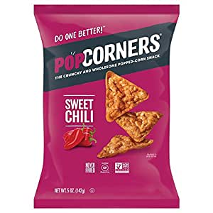 POPCORNERS Sweet Chili, Popped Corn Chips, Gluten Free ...