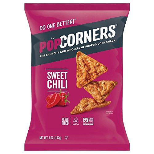 - POPCORNERS Sweet Heat Chili, Popcorn Chips (5oz/12 Pack)