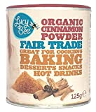 Lucy Bee Organic Fair Trade Cinnamon Powder 125g (Pack of 1)