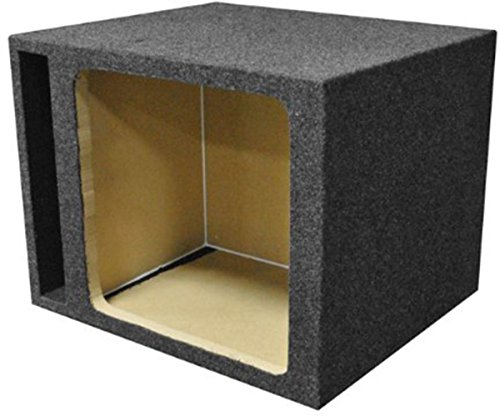 Q Power HD115 VENT SQ Single 15-Inch Vented Custom Speaker Box for Kicker L7 Subwoofer