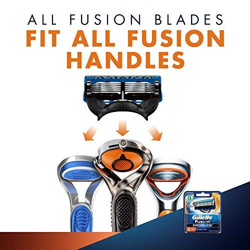 Gillette Flexball Fusion ProGlide Blades - 4 Cartridges
