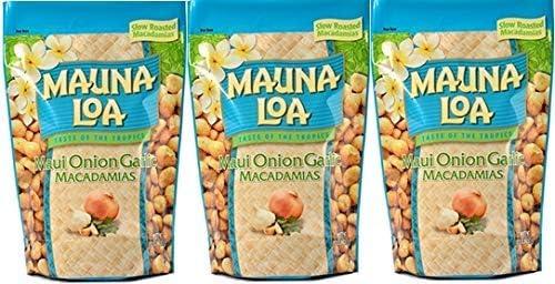 MAUNALOA(マウナロア) マウイオニオン&ガーリックマカデミアナッツ (Lサイズ 283g【3袋】)