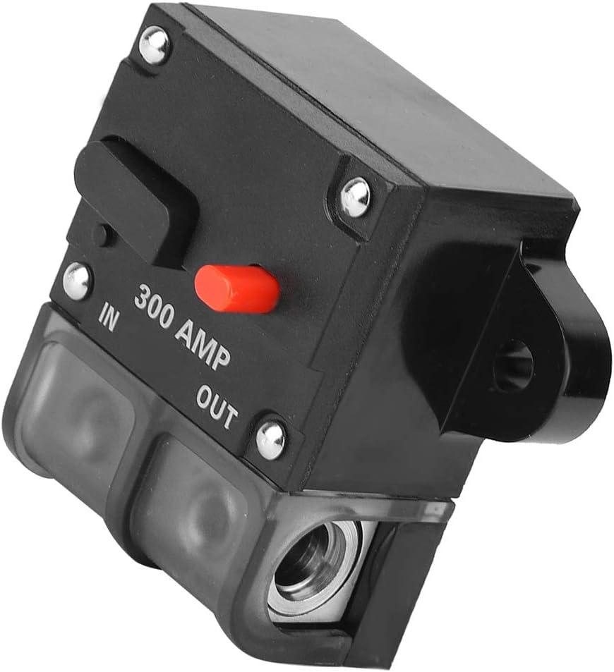 KIMISS Fusibile di auto-ripristino 12-42 VDC Heavy Duty Auto-reset Inline Circuit Breaker 100A