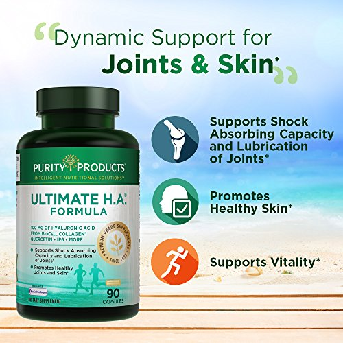 Ultimate H.A. Formula | Purity Products | Type 2 BioCell Collagen | Dynamic Hyaluronic Acid Support for The Joints and Skin* | 90 Count (1) by Purity Products (Image #4)
