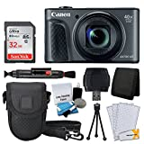 Cheap Canon PowerShot SX730 HS Digital Camera (Black) + 32GB Memory Card + Deluxe Point & Shoot Case + USB Card Reader + Memory Card Wallet + Table Top Tripod + 5 Piece Cleaning Kit + Full Accessory Bundle