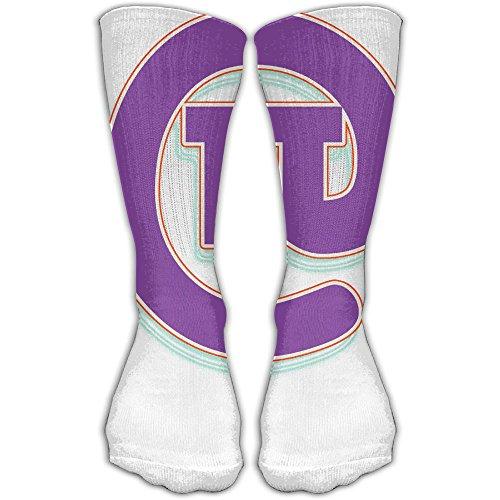 XIUARROWXIU Womens Pi Math Circle Socks Champion Dress Athletic Work Long Knee High Stockings Tights ()