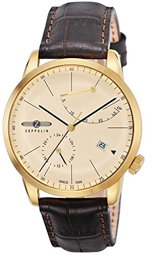 ZEPPELIN watch Flat Line ivory dial 7368-5 Men's parallel import goods]