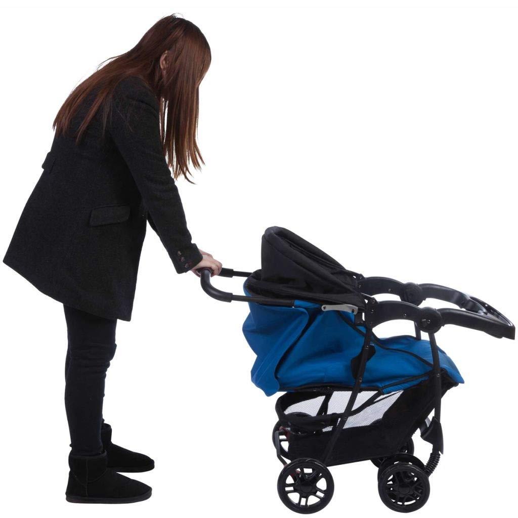 Safety 1st Poussette Autonome Taly Bleu Landau pour B/éb/é Enfant 1231520000
