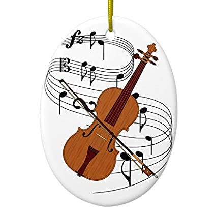 Novelty Christmas Tree Decor Violin Ornament Oval Christmas Decorations  Ornament Crafts - Amazon.com: Novelty Christmas Tree Decor Violin Ornament Oval