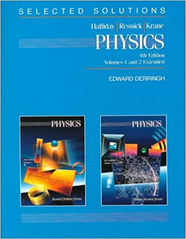 Physics Solutions Manual 9780471518600