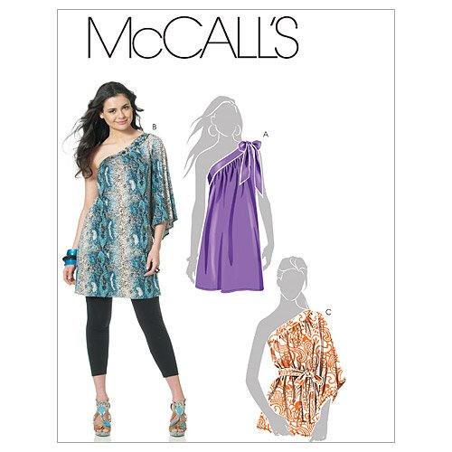 McCall's Patterns M6118 Misses' Tunics and Sash, Size DD (12-14-16-18) Rena Tunic