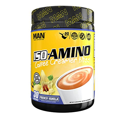 MAN Sports Iso Amino Coffee Creamer Bliss BCAA Powder
