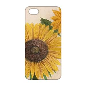 Sunshine chrysanthemum 3D For Iphone 5/5S Phone Case Cover