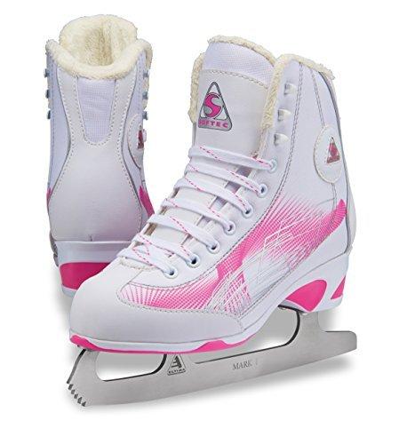 Jackson Ultima Kids Figure Ice Skates Softec RAVE RV2001, Color: Pink, Size:11 (Jackson Softec Ice Skates)