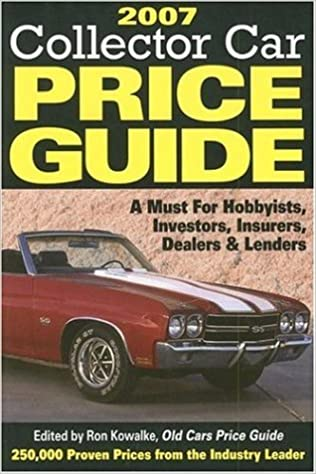 Classic Car Price Guide >> 2007 Collector Car Price Guide Standard Guide To Cars And