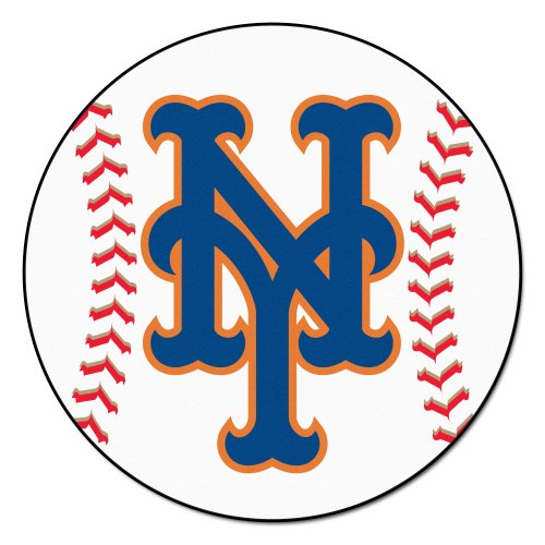 Mlb Rug - FANMATS MLB New York Mets Nylon Face Baseball Rug