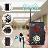 Anti-spy Camera Bug RF Signal Detector [Enhanced Version], Dooreemee Wireless Hidden Camera GPS Tracker Higher Sensitivity Multi-Functional GSM Device Finder(2