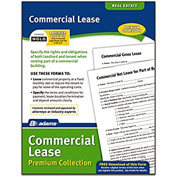 Amazon Adams Commercial Lease Forms And Instructions Lf140