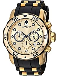 Men's 17885 Pro Diver Ion-Plated Stainless Steel Watch with Polyurethane Band