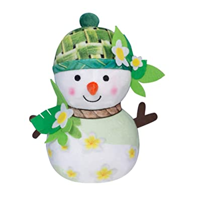 STOBOK Christmas Plush Snowman Doll Stuffed Toy Figurine Gift Desktop Ornament Pendantfor Kid Christmas Tree Xmas Festive Decorations Hanging Season Theme - Summmer: Office Products