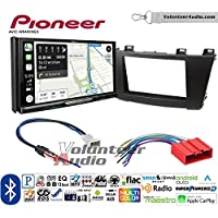 Volunteer Audio Pioneer AVIC-W8400NEX Double Din Radio Install Kit with Navigation, Apple CarPlay and Android Auto Fits 2012-2013 Mazda 3