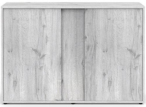 Mueble para Acuario Expert 120 roble blanco Aquatlantis talla: Amazon.es: Productos para mascotas