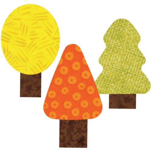 Go! This & That Fabric Cutting Dies-Trees 2x3 By Reiko Kato