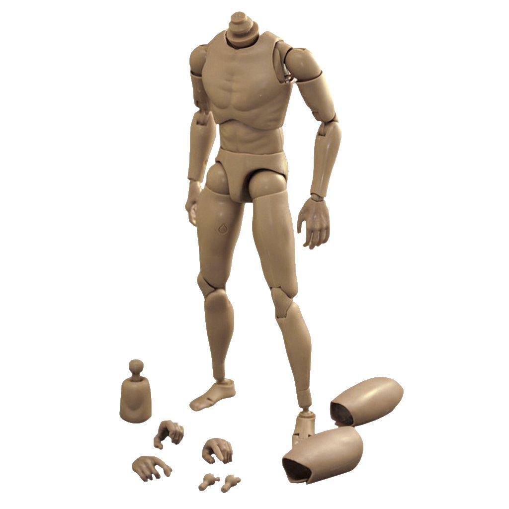 Figura de Acción Juguete Cuerpo Hombre de 1: 6 MagiDeal