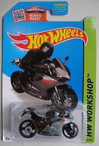 Mattel HOT WHEELS SHOWDOWN SCAN & RACE HW WORKSHOP DUCATI...