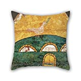beautifulseason cushion covers 20 x 20 inches / 50 by 50 cm(twin sides) nice choice for outdoor,wife,relatives,christmas,floor,couples oil painting Anonymous, Catalan - Noah's Ark