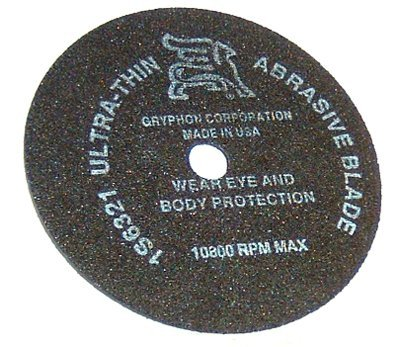Gryphon Came Chop Saw Blade Ultra Thin Abrasive ()