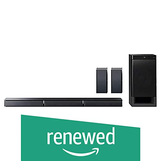 Renewed  Sony HT RT3 Sound Bar Home Theatre System  Black  Multimedia Speaker Systems