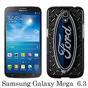 Samsung Galaxy Mega 6.3 I9205 Case ,Hot Sale And Popular Designed Samsung Galaxy Mega 6.3 I9205 Case With Ford logo 2 Black Hight Quality Cover