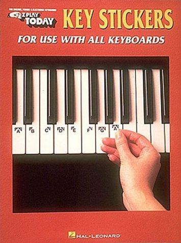 [Key Stickers (Ez Play Today)] (Ez Play Today Sheet Music)