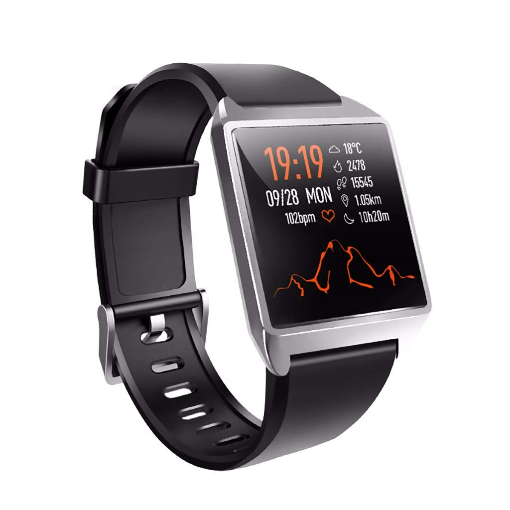 Smart Watch Bluetooth Sports Fitness Activity Heart Rate Tracker Blood Pressure Calories