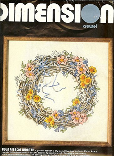 Blue Ribbon Wreath Craft Kit