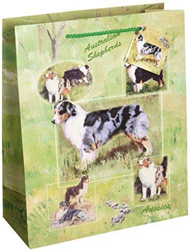 AUSTRALIAN SHEPHERD GIFT BAGS, SET OF 5 Large Gift Bags by Ruth - Store Australian Gift