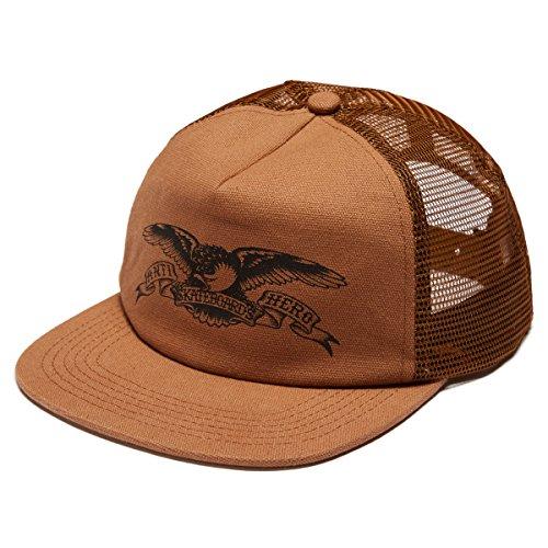 Anti-Hero Basic Eagle Trucker Hat - Brown