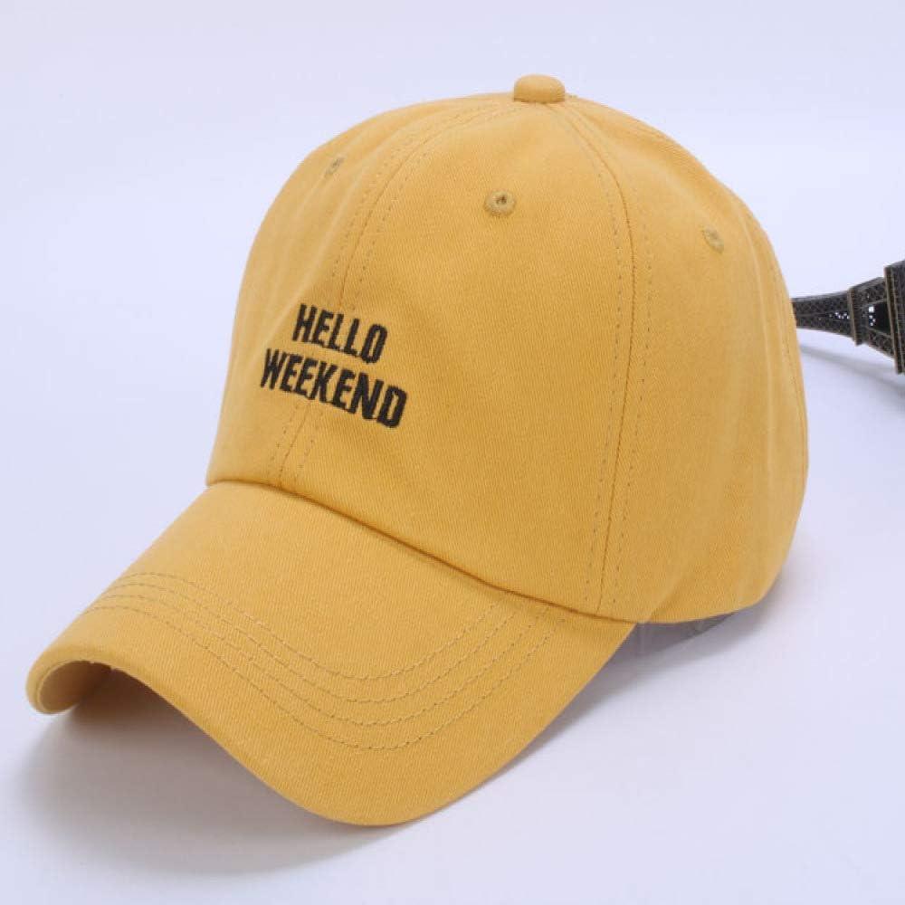 sdssup Gorra de béisbol Gorra de Hombre y Mujer Salvaje Amarilla ...