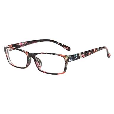 Hzjundasi Unisexe Plein Cadre Petite vue Myope Eyewear Myopie Des lunettes - 1.0-1.5 -2.0-2.5 -3.0-4.0 -5.0-6.0 avec Des lunettes Cas (Ces sont pas  lunettes ... 25a61804557