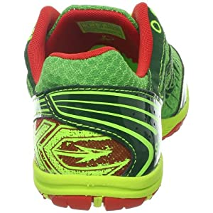 Saucony Men's Kilkenny XC5 Spike Cross-Country Shoe,Green/Citron,11.5 M US
