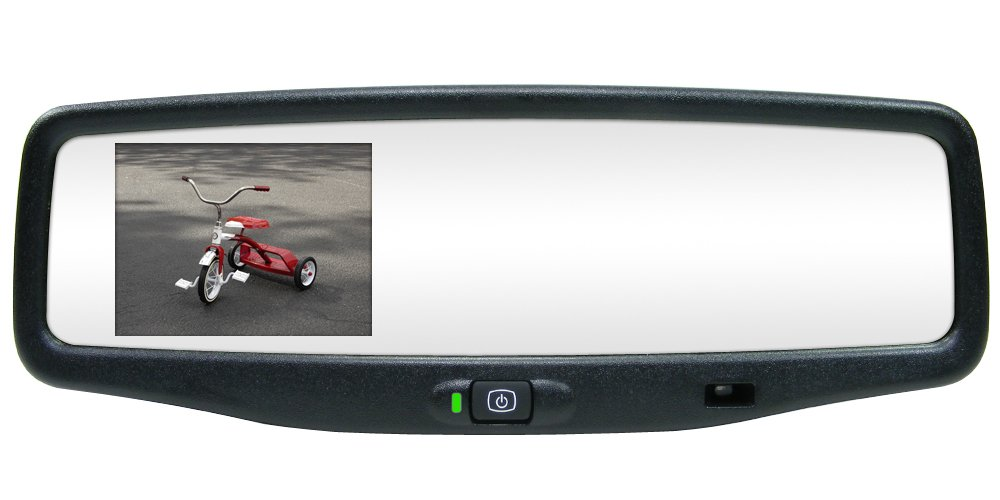 Rostra 250-8800-CCD Magna 3.5-Inch TFT LCD Standard Rear View Mirror Monitor and 1/4-Inch CCD Color Camera