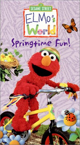 Elmo's World - Springtime Fun [VHS] by Sesame Street