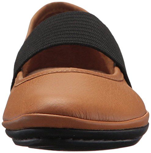 Camper Right Nina 21595 Brown Black Womens Leather Shoes k9YxEOT